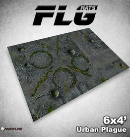 Frontline Gaming FLG Mats: Urban Plague 6x4'