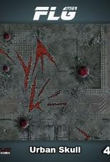 Frontline-Gaming FLG Mats: Urban Skull 4x4'