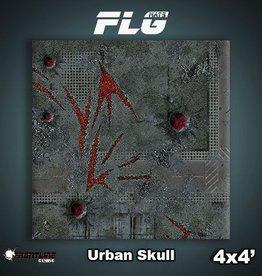 Frontline Gaming FLG Mats: Urban Skull 4x4'