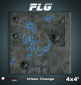 Frontline-Gaming FLG Mats: Urban Change 4x4'