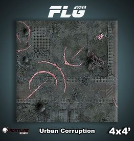 Frontline-Gaming FLG Mats: Urban Corruption 4x4'
