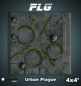 Frontline Gaming FLG Mats: Urban Plague 4x4'