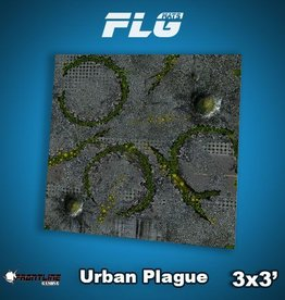 Frontline-Gaming FLG Mats: Urban Plague 3x3'