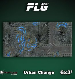 Frontline-Gaming FLG Mats: Urban Change 6x3'