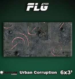 Frontline Gaming FLG Mats: Urban Corruption 6x3'