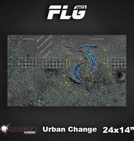 "Frontline-Gaming FLG Mats: Urban Change 24"" x 14"""
