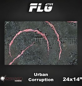 "Frontline Gaming FLG Mats: Urban Corruption 24"" x 14"""