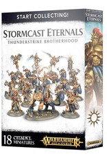 Games-Workshop Start Collecting! Stormcast Eternals Thunderstrike Brotherhood
