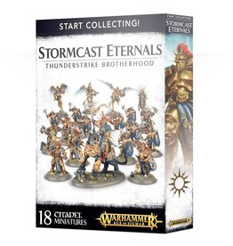Games Workshop Start Collecting! Stormcast Eternals Thunderstrike Brotherhood