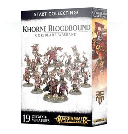 Games Workshop Start Collecting! Khorne Bloodbound Goreblade Warband