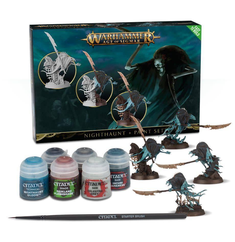 Games Workshop Nighthaunt + Paint Set