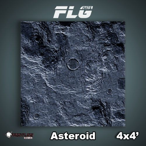 Frontline-Gaming FLG Mats: Asteroid 4x4'