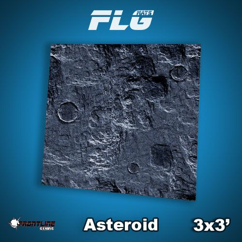 Frontline-Gaming FLG Mats: Asteroid 3x3'