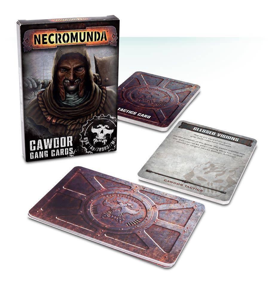 Games Workshop Cawdor Gang Cards