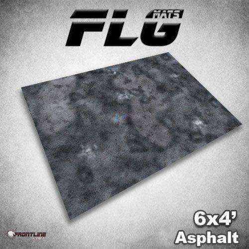 Frontline Gaming FLG Mats: Asphalt 6x4'
