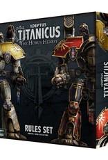 Games Workshop Adeptus Titanicus: The Horus Heresy Rules Set