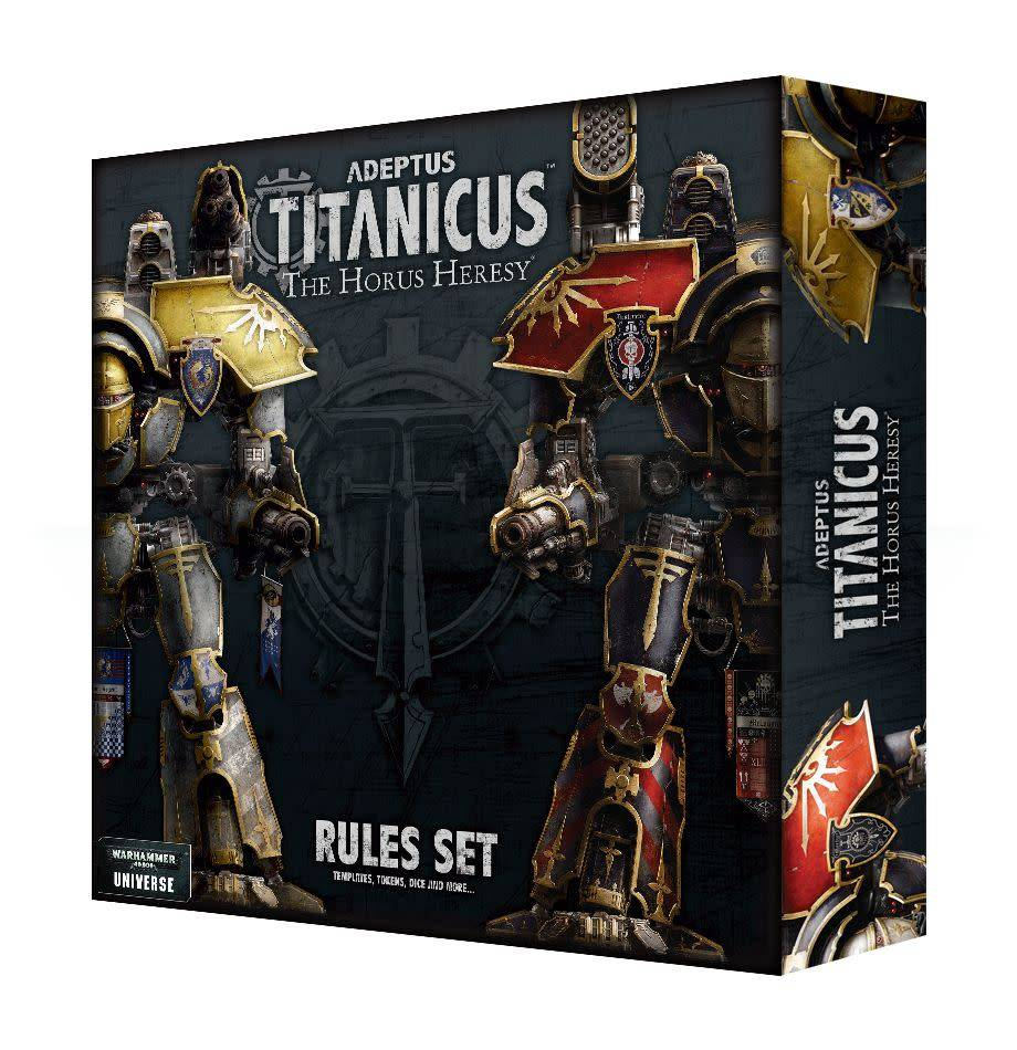 Games Workshop Adeptus Titanicus: The Horus Heresy Rules Set