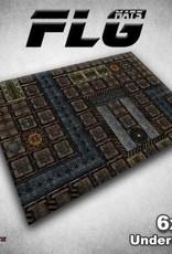 Frontline Gaming FLG Mats: Undercity 6x4'