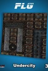 Frontline Gaming FLG Mats: Undercity 3x3'