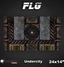 "Frontline Gaming FLG Mats: Undercity 24"" x 14"""