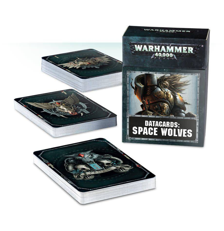 Games Workshop Datacards: Space Wolves