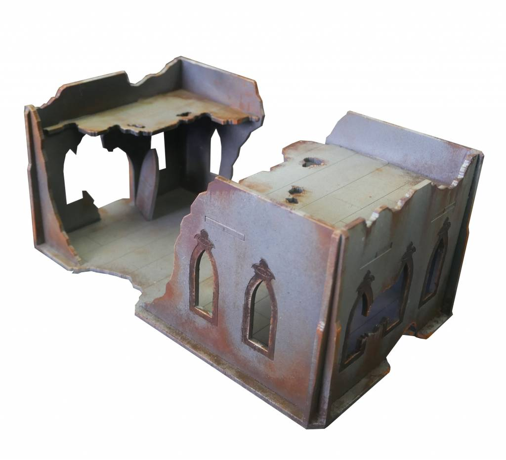 Frontline-Gaming ITC Terrain Series: Gothic Ruins House