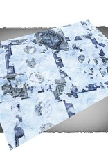 Frontline-Gaming FLG Mats: Snow Base 6x4'