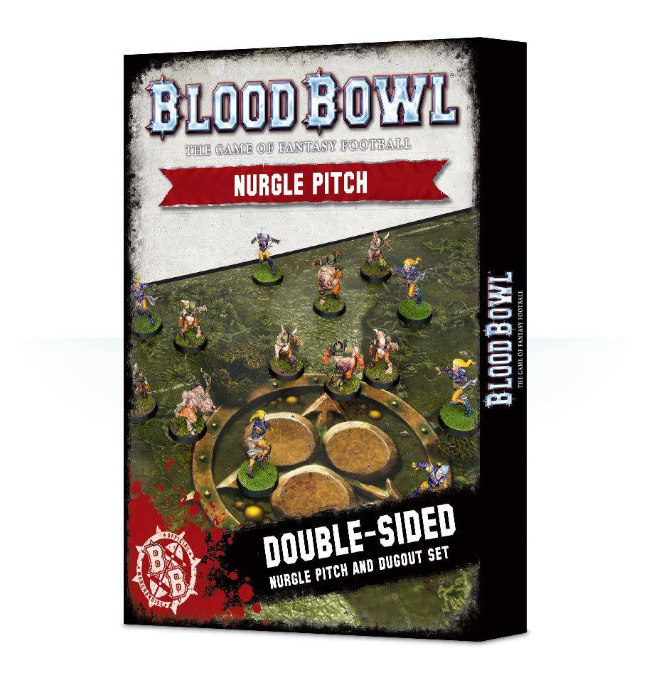 Games Workshop Blood Bowl Nurgle Pitch