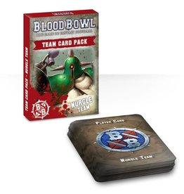 Games Workshop Blood Bowl Team Card Pack – Nurgle Team
