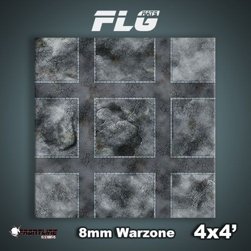 Frontline Gaming FLG Mats: 8mm Warzone 4x4'