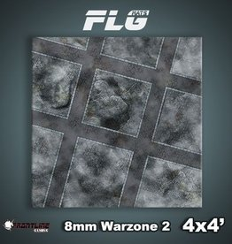 Frontline-Gaming FLG Mats: 8mm Warzone 2 4x4'