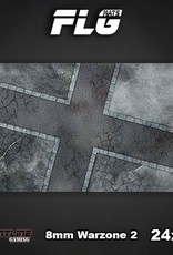 "Frontline Gaming FLG Mats: 8mm Warzone 2 24"" x 14"""