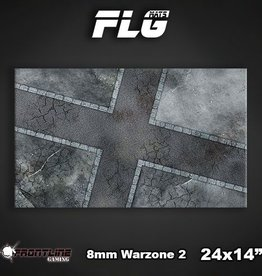 "Frontline-Gaming FLG Mats: 8mm Warzone 2 24"" x 14"""