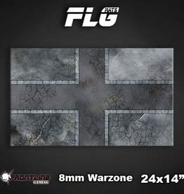 "Frontline-Gaming FLG Mats: 8mm Warzone 24"" x 14"""