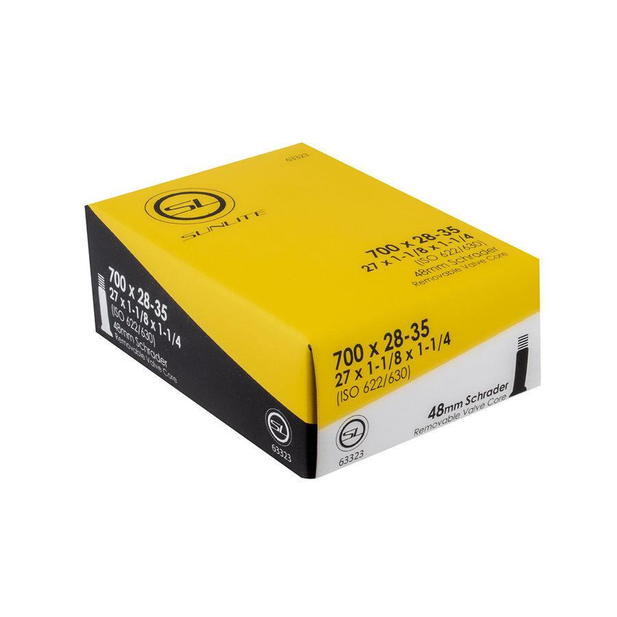 Sunlite Tube 700 x 28-35 (27x1-1/8x1-1/4) 48mm SV