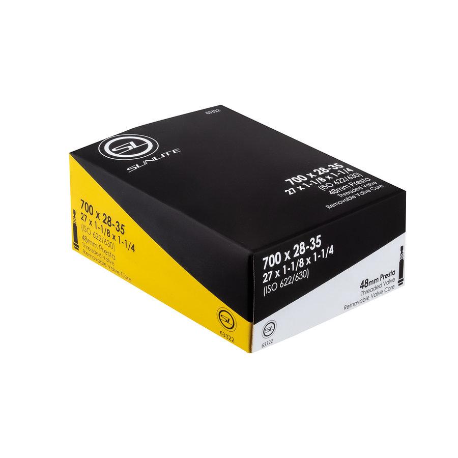 Sunlite Tube 700x28-35 48mm PV