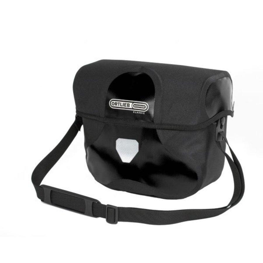 Ortlieb Ultimate 6 Classic Handlebar Bag: Medium, 7 Liter, Black