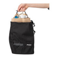 MSW Blacktop Grocery Pannier Bag Black