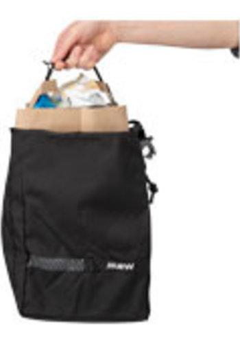 MSW Blacktop Grocery Pannier Bag Black