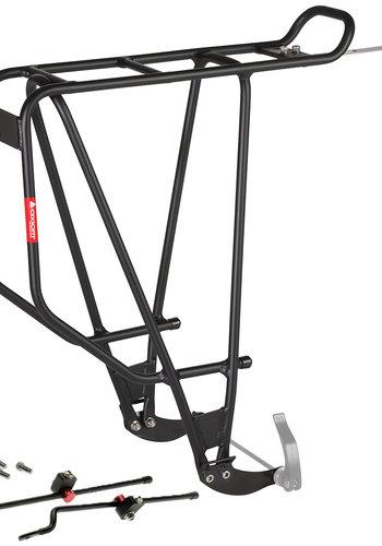 Axiom Streamliner Disc DLX Rear Rack: Black