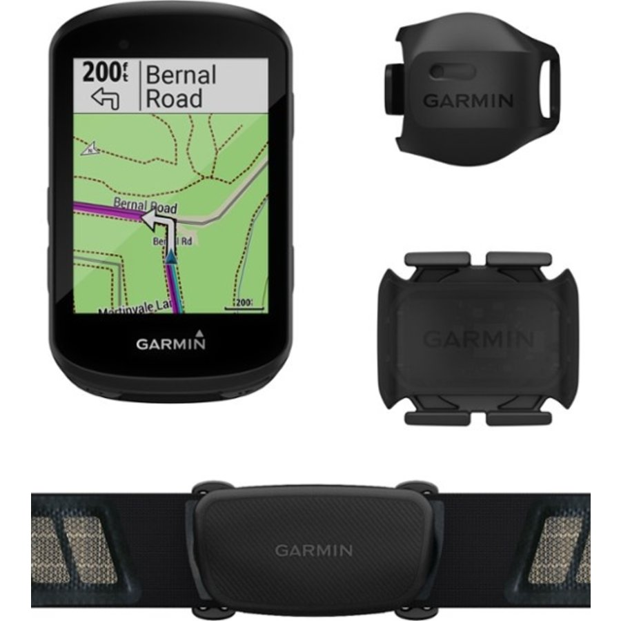 Garmin Edge 530 Speed/Cadence Bundle Bike Computer - GPS, Wireless, Speed, Cadence, Black