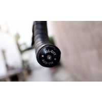 All-City Locking Handlebar End Plugs, Black