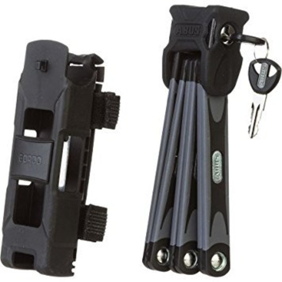 Abus Bordo 6000 Folding Lock: 75cm; Black