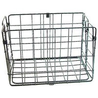Wald 582 Rear Folding Basket: Black