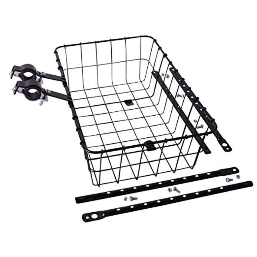 Wald 1372 Front Basket: Gloss Black Medium