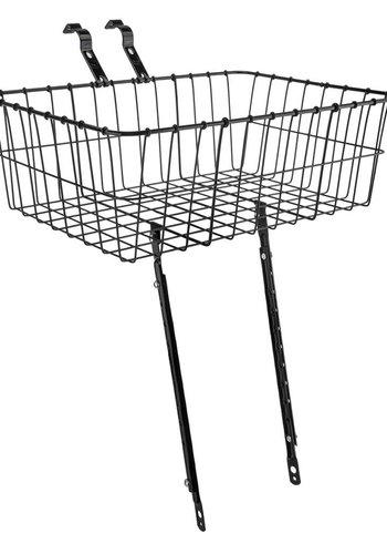 Wald 1372 Front Basket: Gloss Black