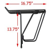 Jandd Expedition Rear Rack: Black