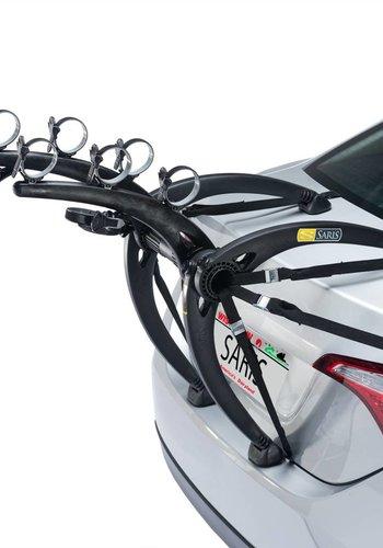 Saris Bones Trunk Rack: 3-Bike Black