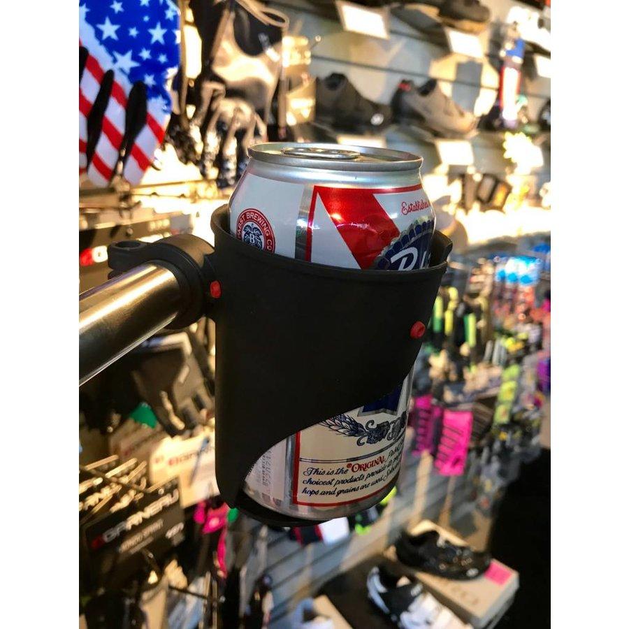 Delta Grande Handle Bar Beverage Holder Black
