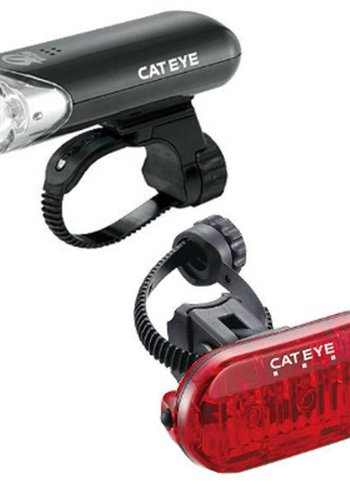 CatEye HL-EL135N/OMNI 3 TL-LD135 Light Set